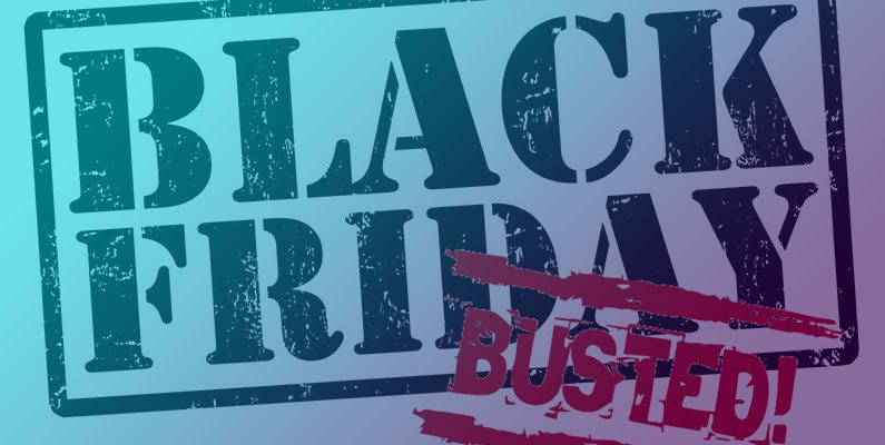 Surprise… on Black Friday everything that glitters is not a discount